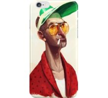 Hunter S . Thompson by Luca Boni iPhone Case/Skin