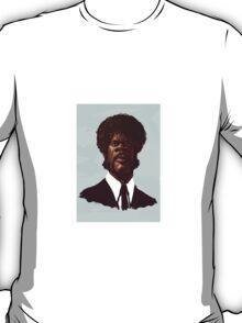 Samuel L. Jackson by Luca Boni T-Shirt