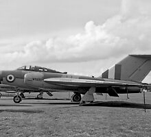 Gloster Javelin 4th prototype WT830 by Colin Smedley