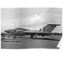 Gloster Javelin 4th prototype WT830 Poster