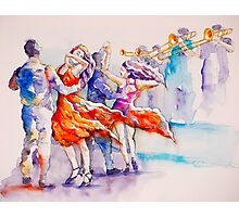 salsa and trumpets Photographic Print