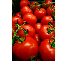 A Crop of Tomatoes  Photographic Print