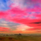 Badlands Sunset by AlienVisitor