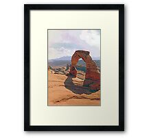 Delicate Arch (3) Framed Print