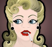 BLONDE BOMBSHELL by Laura McDonald