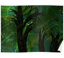 Forest Canopy - high res Poster