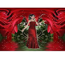 The Rose Fairy Photographic Print