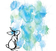 Rabbit Splatter by MagentaStyle