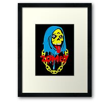 Zomby color  Framed Print