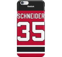New Jersey Devils Cory Schneider Jersey Back Phone Case iPhone Case/Skin