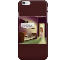Under The Bed In The Dog House  iPhone Case/Skin