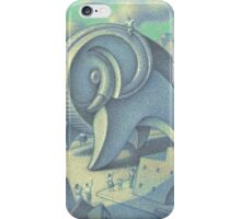 Archipenko reides his Elephant iPhone Case/Skin