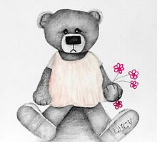 Lucy Bear by Sassy Art