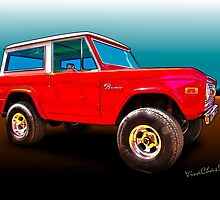Ford Bronco Classic from VivaChas Hot Rod Art by ChasSinklier