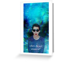 Troye Sivan - What's The Wifi Password? Greeting Card
