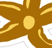 French chocolate starfish Sticker