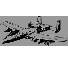 A-10 Thunderbolt II Photographic Print