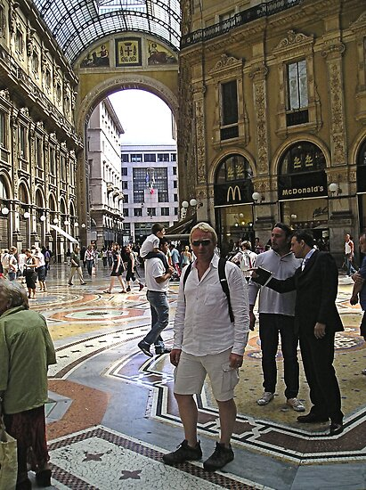 Shopping Arcade Milan by hilarydougill