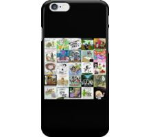 Music Collage by Londons Times Cartoons  iPhone Case/Skin