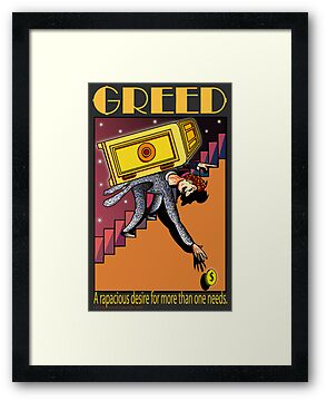 Greed by Larry Butterworth