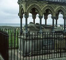Tomb of Grace Darling, Sea Houses Bamburgh Northumberland England 198405280022m by Fred Mitchell