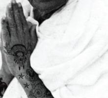 Ghani Ink'd Sticker