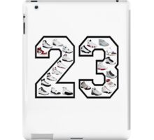 Jordan 23 (Black Numbering) iPad Case/Skin