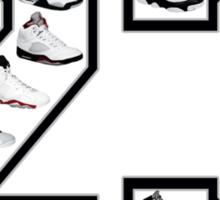 Jordan 23 (Black Numbering) Sticker