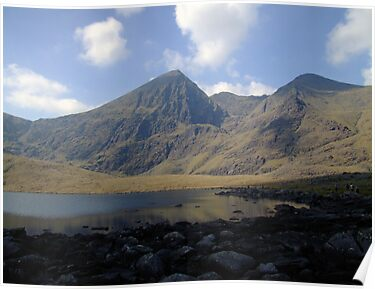 Carrauntoohil summer view by John Quinn