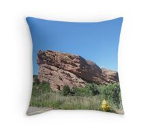 Red Rocks 2 Throw Pillow