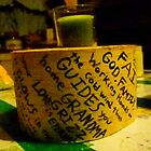 Birch Block Candle Holder and Poem by MaeBelle