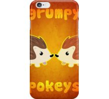 Grumpy Pokeys iPhone Case/Skin