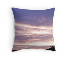 Evening Clouds #1 Throw Pillow