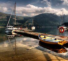 A Scottish Scene by Linda  Morrison