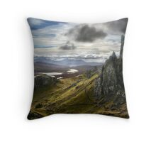 Ancient Pathways Throw Pillow