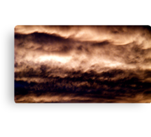 Evening Clouds #3 Canvas Print