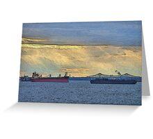 Delaware River Maritime 4  Greeting Card