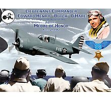 Medal of Honor Butch O'Hare  Photographic Print