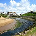 Bude, North Cornwall, England by kojobar