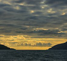 Gulf of Corryvreckan at Sunset by Alisdair Gurney