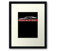 Mazdaspeed Framed Print