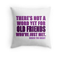 There's Not a Word Yet...(Purple) Throw Pillow