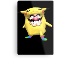 wario is into some weird stuff Metal Print