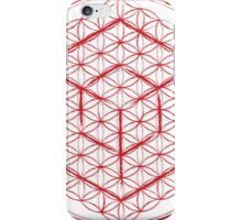 Cubed Flower of Life  iPhone Case/Skin