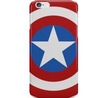 Simple 2D Captain America Shield iPhone Case/Skin