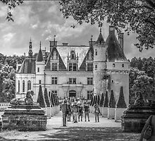 Chateau de Chenonceau, France #4 by Elaine Teague