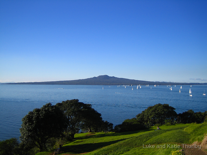 Rangitoto by Luke and Katie Thurlby