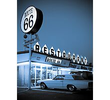 The Route 66 Restaurant. Santa Rose. New Mexico. Photographic Print
