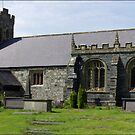 St Grwst's Church, Llanrwst,North Wales by Trevor Kersley