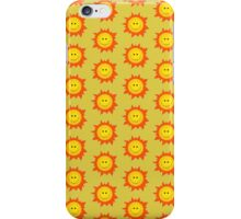 Happy Smiling Sun Pattern Case iPhone Case/Skin